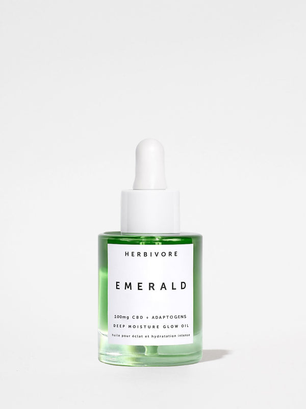 Herbivore Emerald Deep Moisture Glow Oil 1oz bottle
