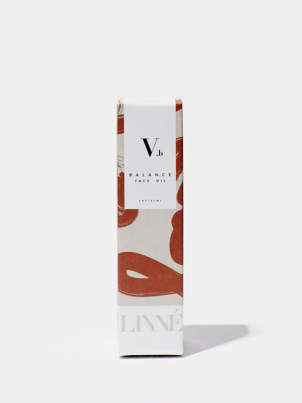 Linné Botanicals BALANCE Face Oil Box Front