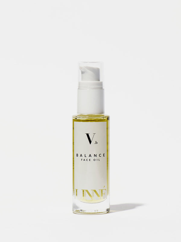 Linné Botanicals BALANCE Face Oil Bottle