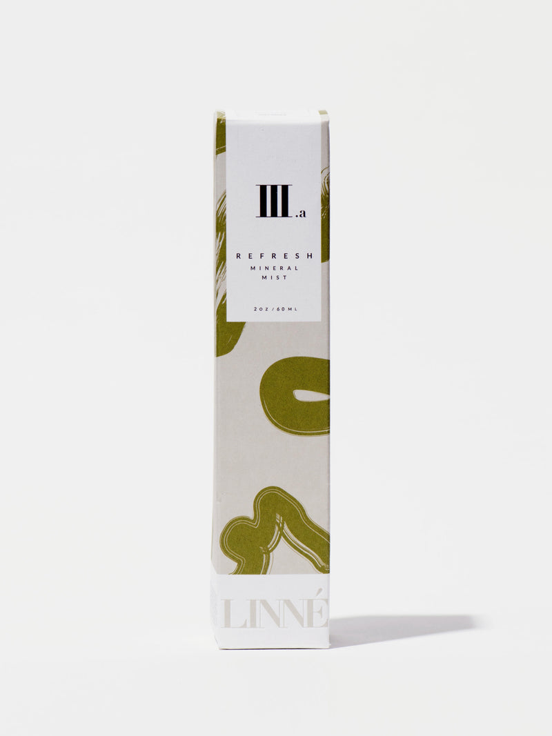 Linne Botanicals REFRESH Mineral Face Mist Box Front