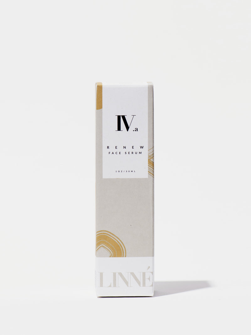 Linné Botanicals RENEW Face Serum Box Front