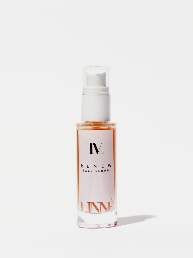 Linné Botanicals RENEW Face Serum Bottle