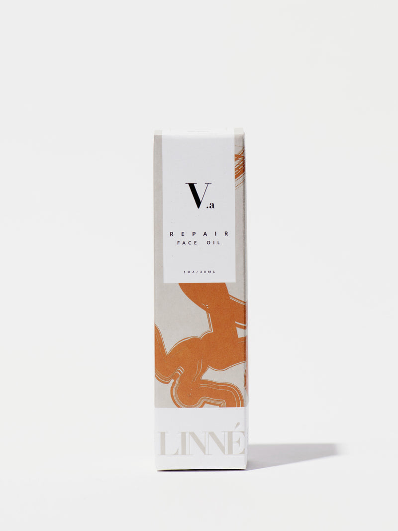 Linné Botanicals REPAIR Face Oil Box Front