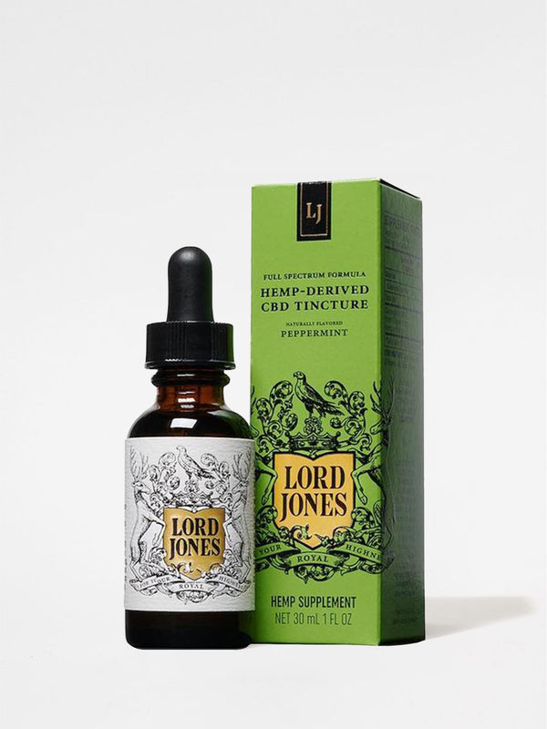 Lord Jones Full Spectrum 500mg Tincture Peppermint