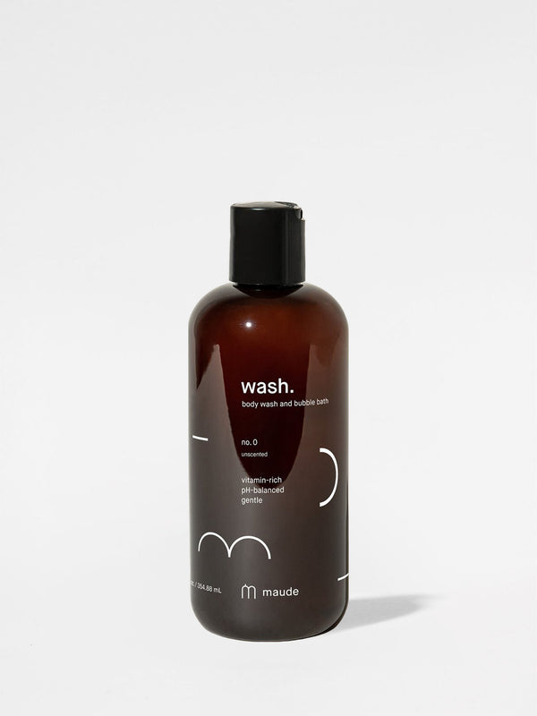 Maude Wash No. 0 12oz bottle