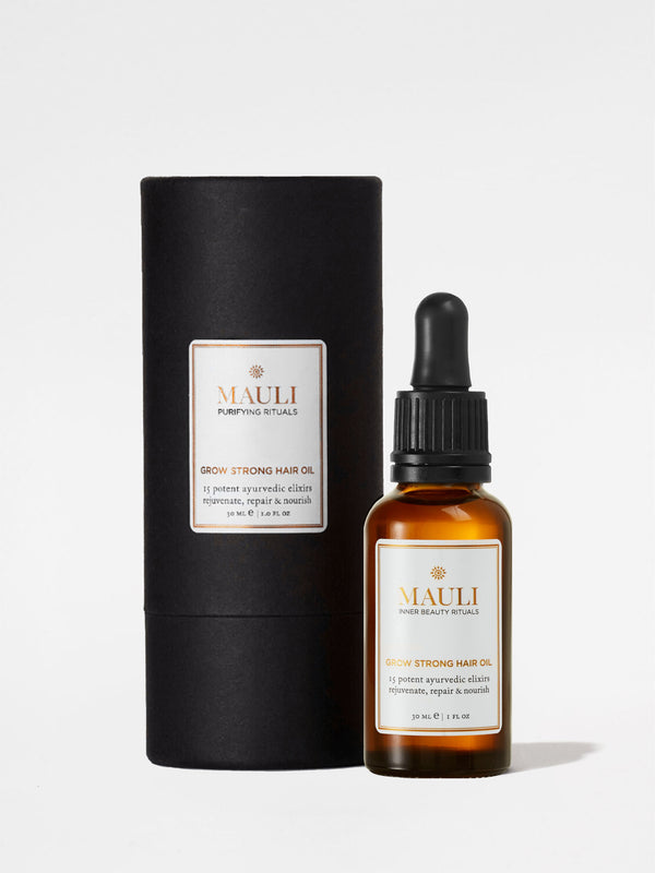 Mauli Grow Strong Hair Oil with Outer Box