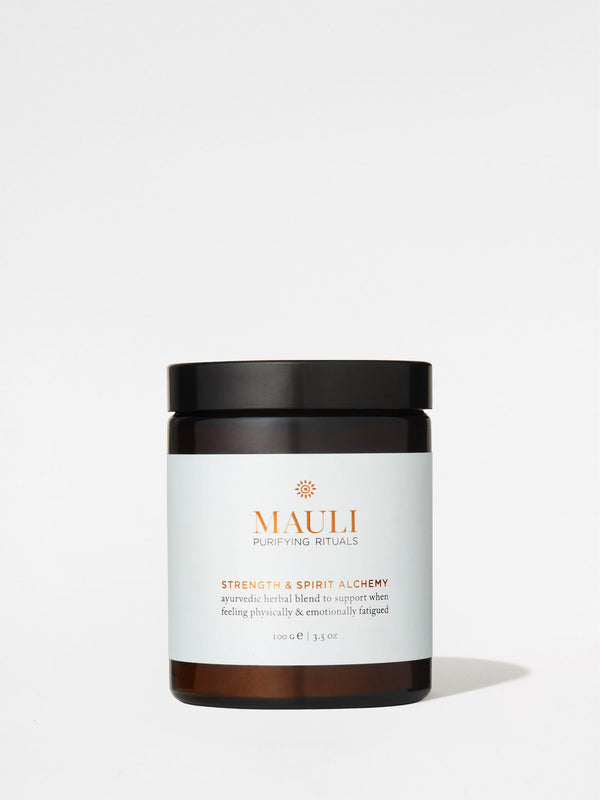 Mauli Rituals Strength & Spirit Plant Alchemy 100g Jar