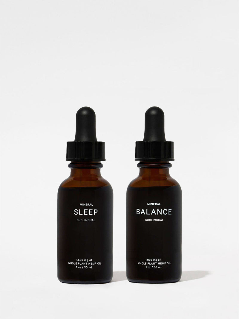 Mineral Day + Night Tincture Kit