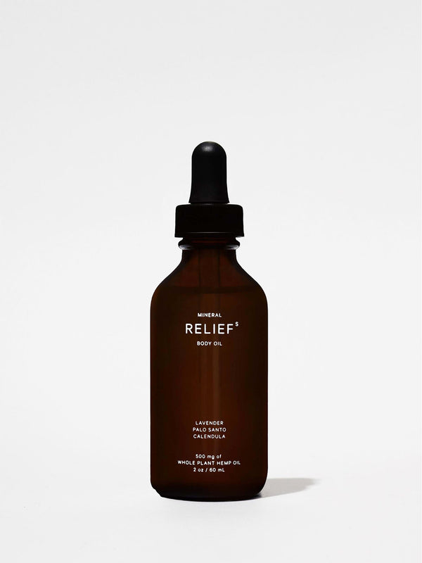 MIneral Relief Body Oil 2oz Bottle