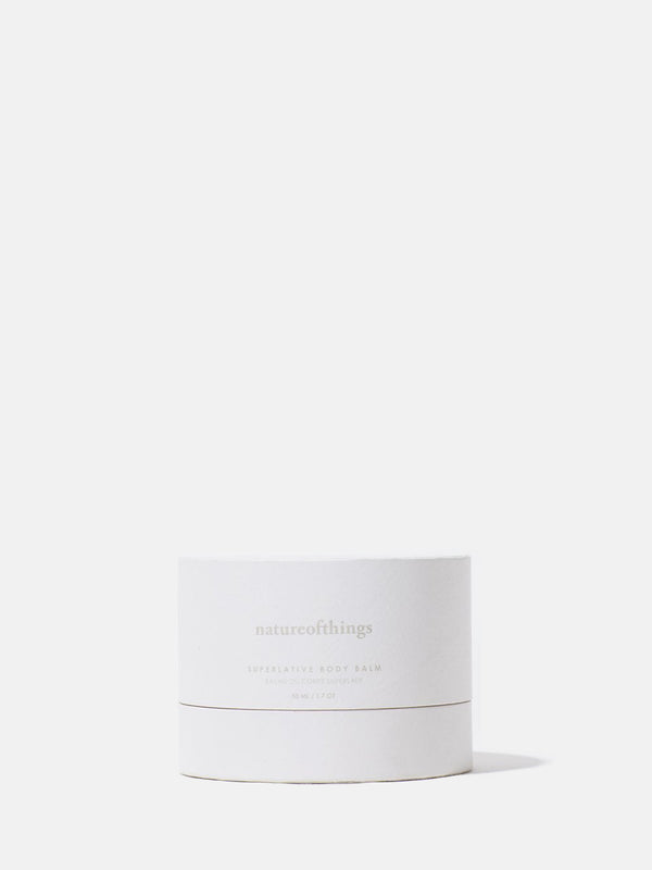 natureofthings Superlative Body Balm box front