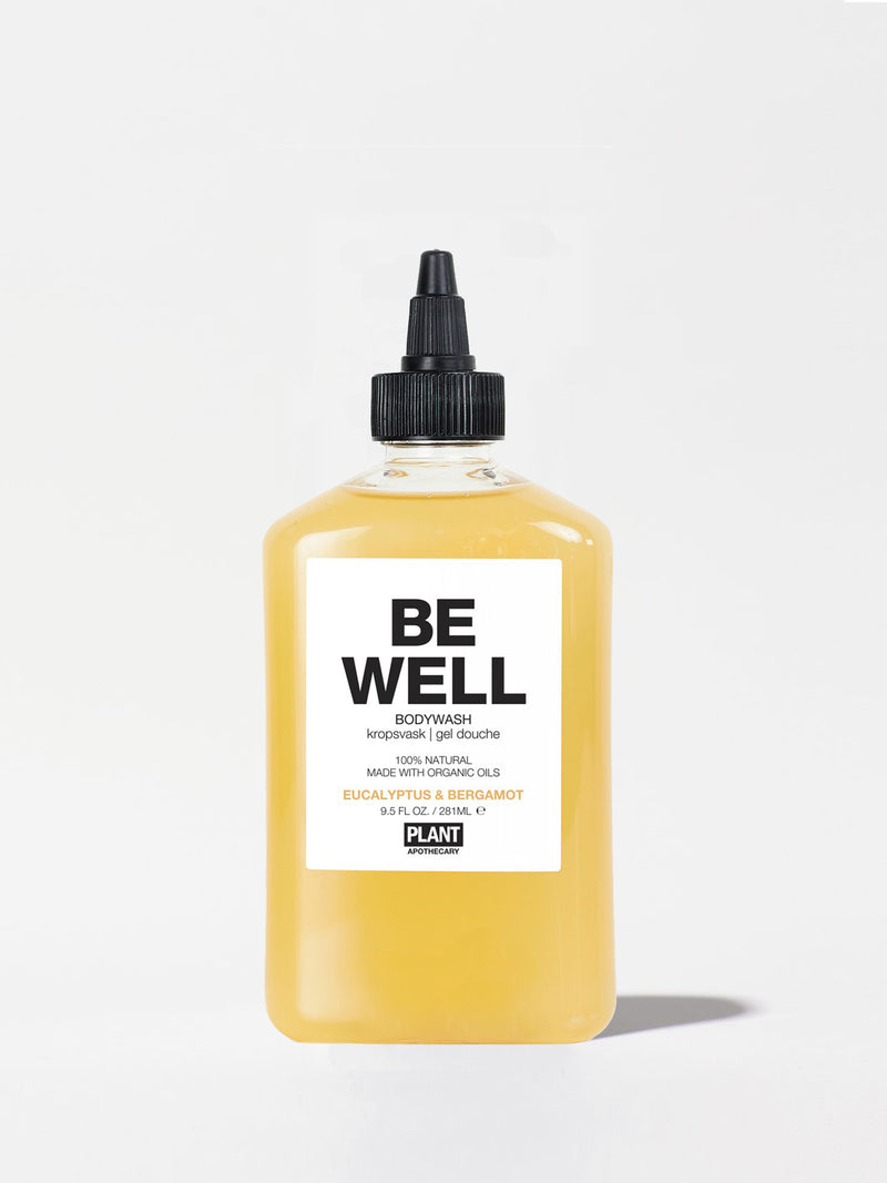 Plant Apothecary Be Well Body Wash Bottle 9.5oz