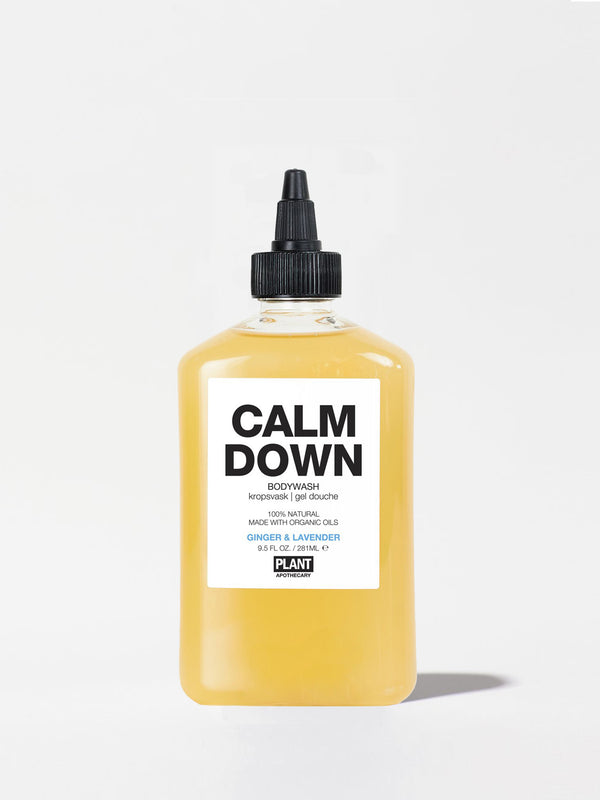 Plant Apothecary Calm Down Body Wash Bottle 9.5oz