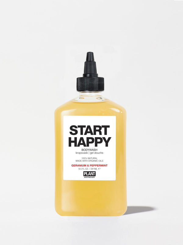Plant Apothecary Start Happy Body Wash Bottle 9.5oz