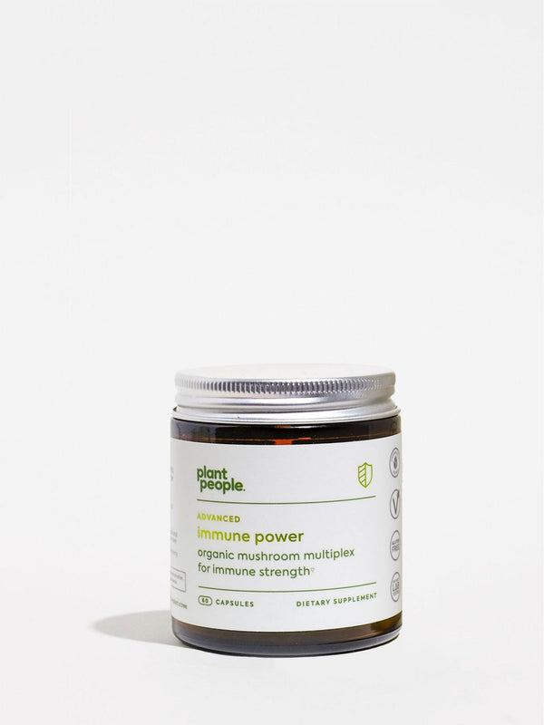 Plant People Immune Power Capsules Jar Front