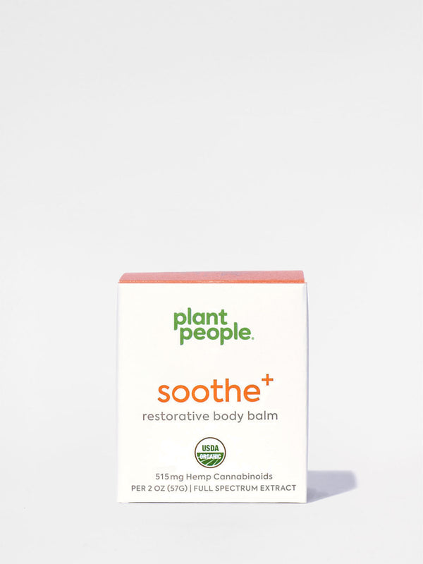 Plant People Soothe+ Restorative Body Balm box