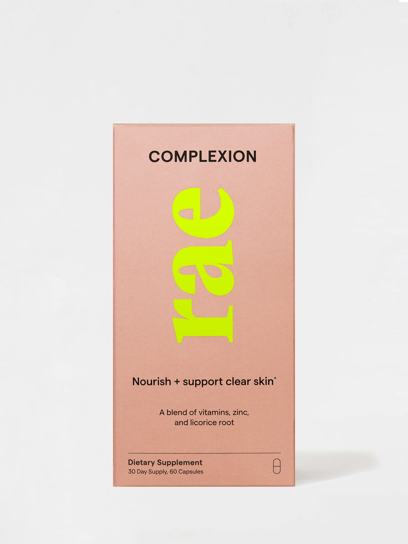 Rae Wellness Complexion Capsules Box Front