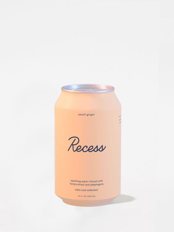 Peach Ginger Sparkling Drink