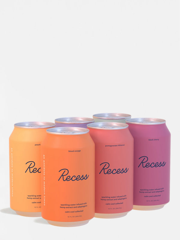 Recess Variety Sampler - All Six Flavors