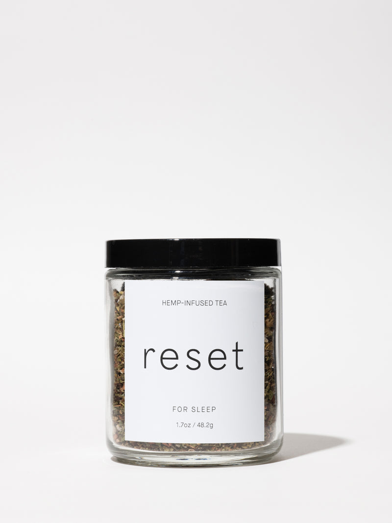 Reset For Sleep Tea from Reset Teas, curated by Standard Dose