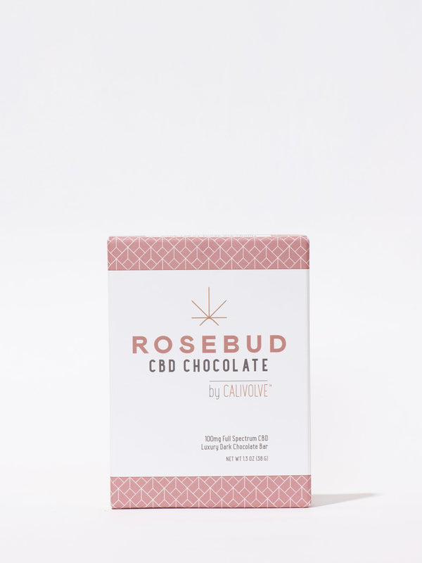 Rosebud X Calivolve Dark Chocolate Bar