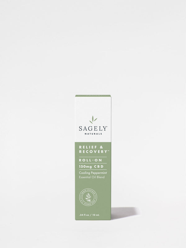 Sagely Relief + Recovery Roll On box