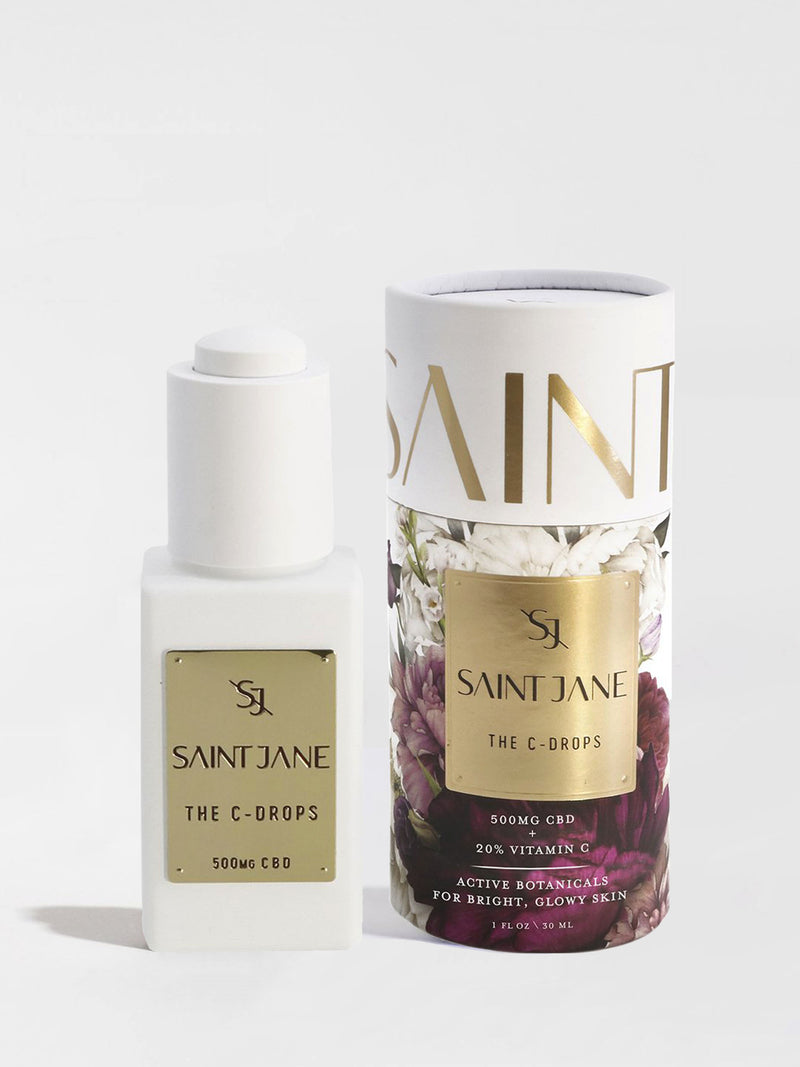Saint Jane The C-Drops Bottle and Box