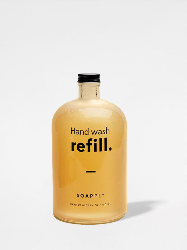 Soapply Hand Wash Refill Bottle Front