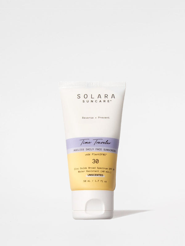 Solara Suncare Time Traveler Ageless Daily Face Sunscreen 1.7oz