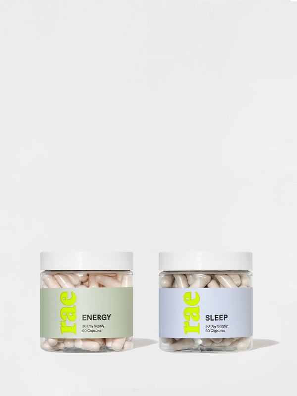 Rae Sleep + Energy Kit