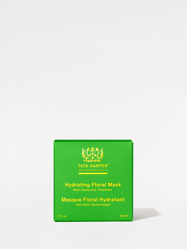 Tata Harper Hydrating Floral Mask outer box