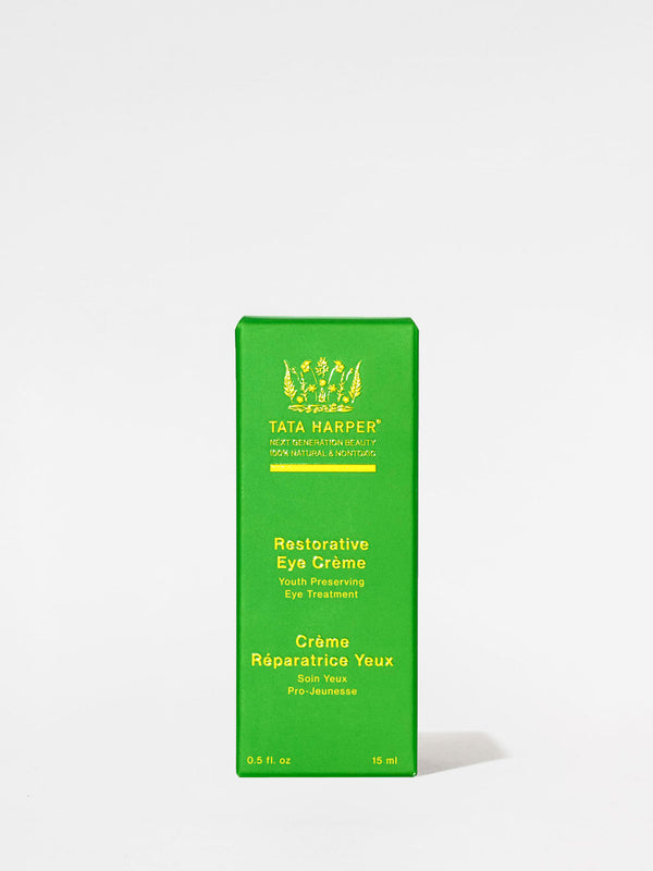 Tata Harper Restorative Eye Creme outer box