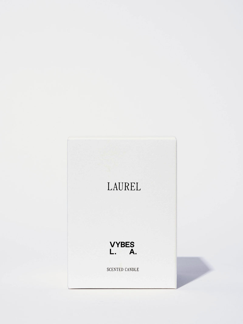 Vybes Laurel Candle