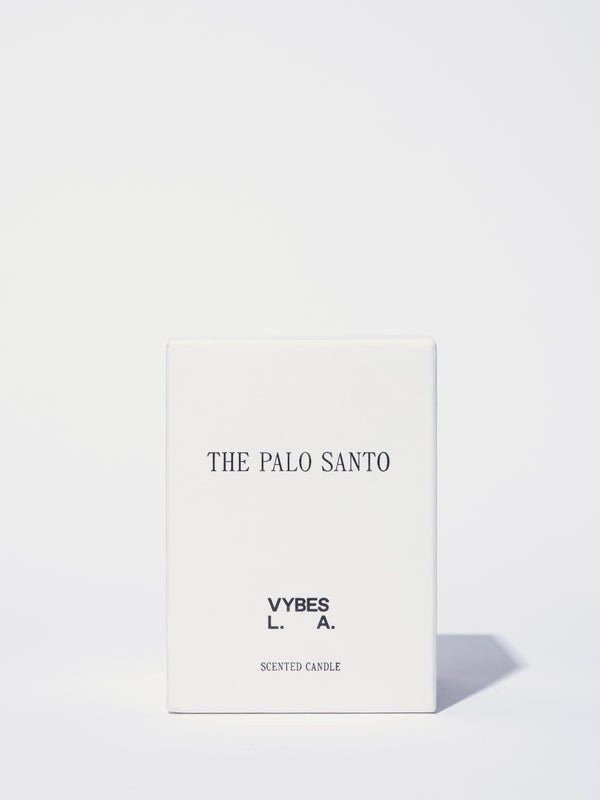 The Palo Santo Scented Candle