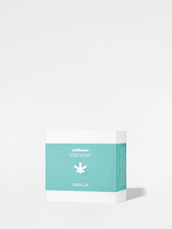 Wildflower Vanilla Soap in packaging
