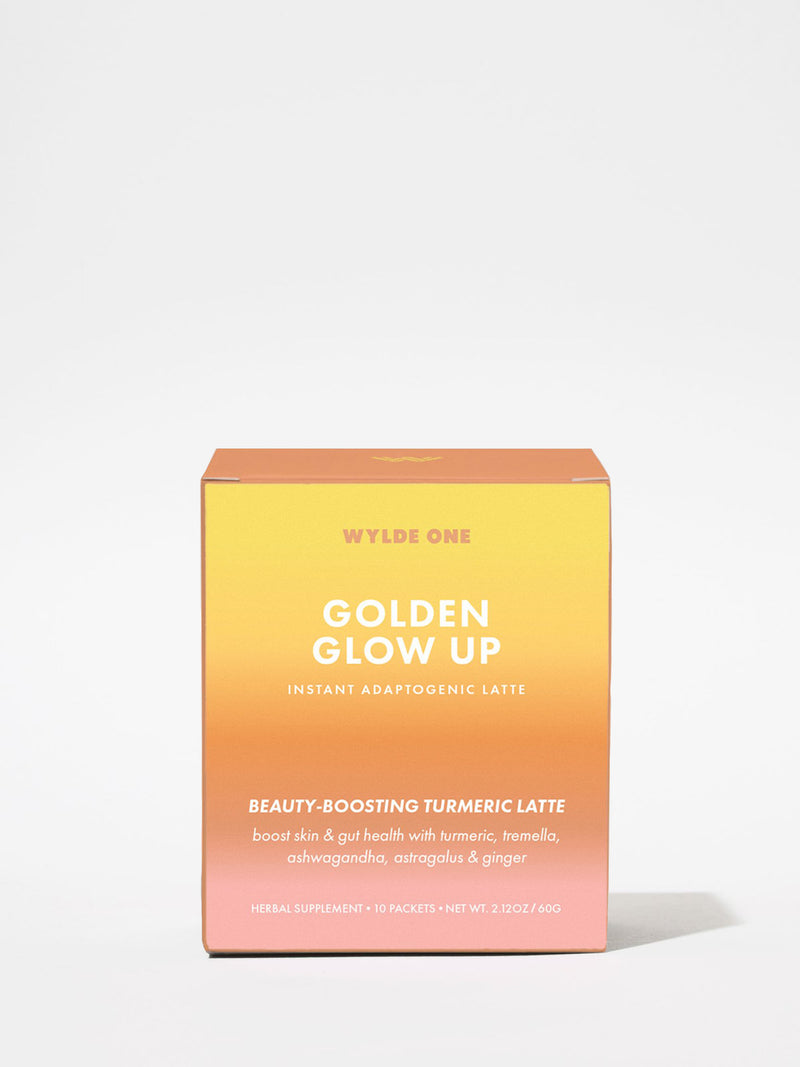 Wylde One Golden Glow Up box 10 packets