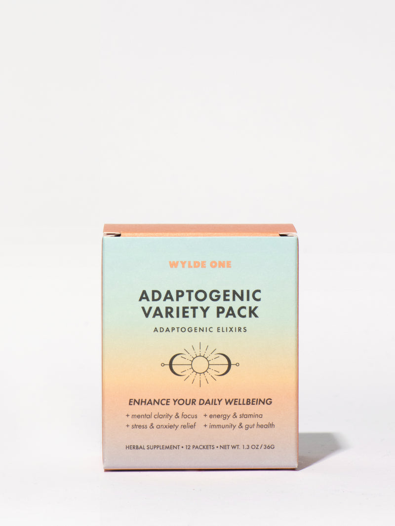 Wylde One Adaptogenic Variety Pack Box Front