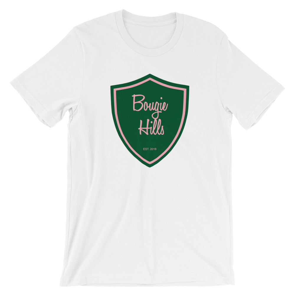 Bougie Hills Women's Short Sleeve White T-Shirt