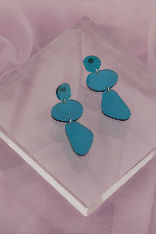 Ruth Earrings - Teal