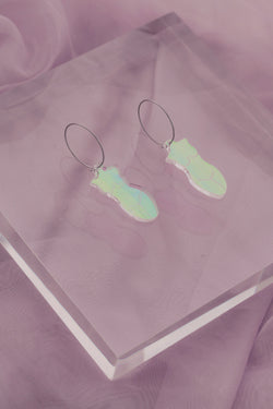Lady Loretta Hoops - Iridescent