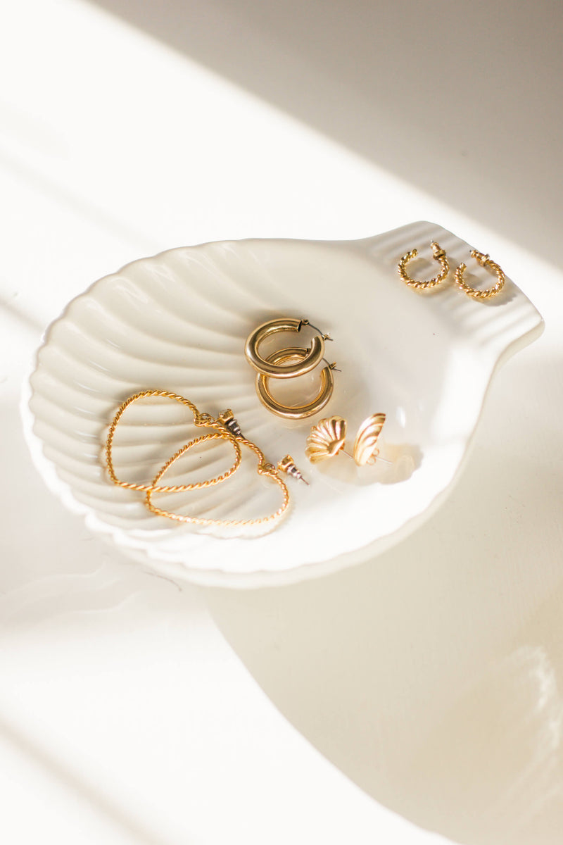 Shell Jewelry Tray