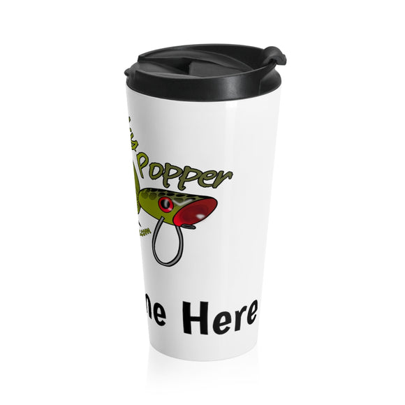 Personalized Lucky Popper Stainless Steel Travel Mug