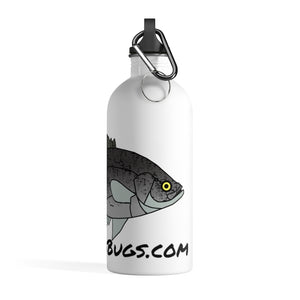 Crappie Stainless Steel Water Bottle
