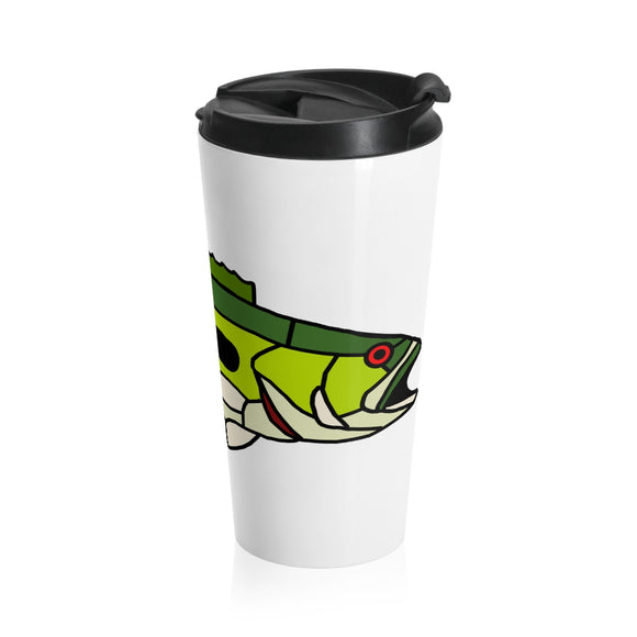Largemouth Bass Stainless Steel Travel Mug