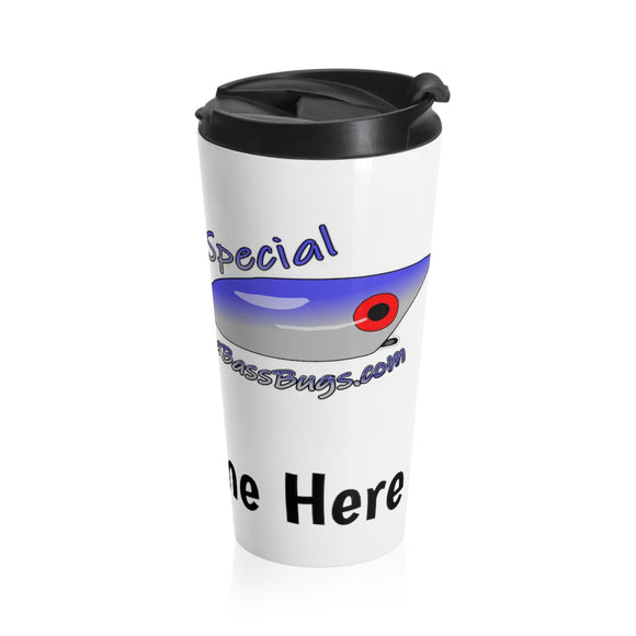 Personalized El Salto Special Stainless Steel Travel Mug
