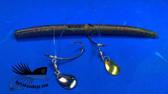 Bladed Wacky Hook - 2 pack