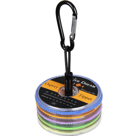 Tippet  2 3 4 5 6X 55yds/50m with Copper Tippet Holder