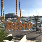 BINO Custom Bubble Letter Pendant
