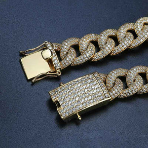 Cuban Link Bracelet - Big Lock