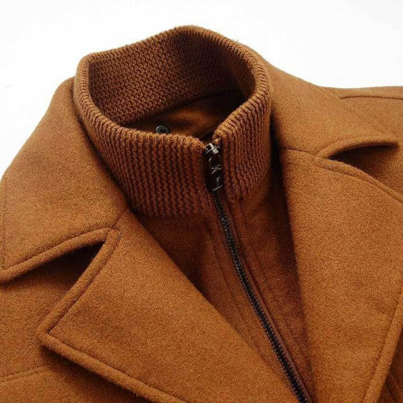 The Chesapeake Quilted Short Trench Brown