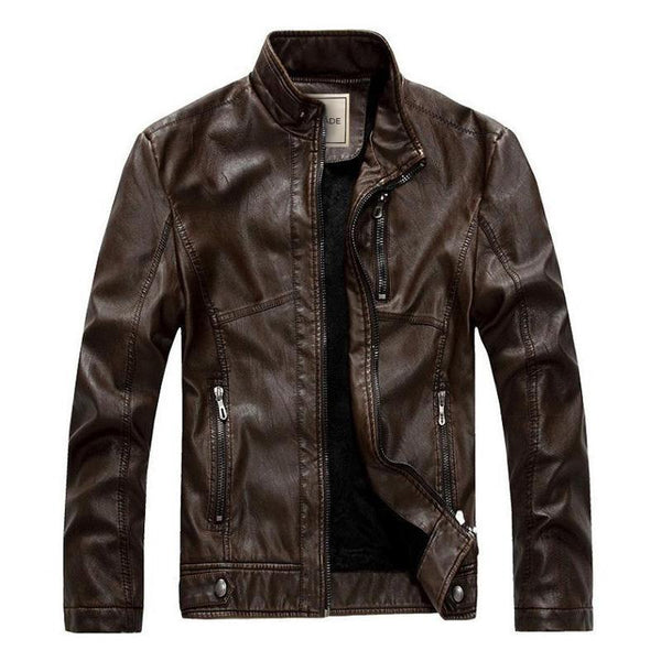 The Aviator Jacket Brown